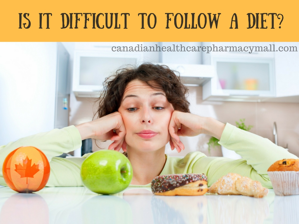 Is it difficult to follow a diet?
